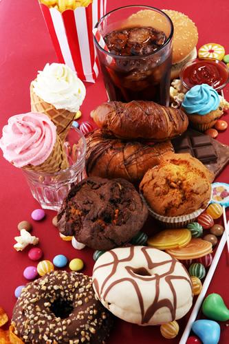 Gicht Süßigkeiten